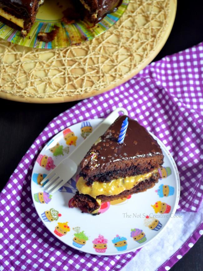 Chocolate Tablea Cake 1