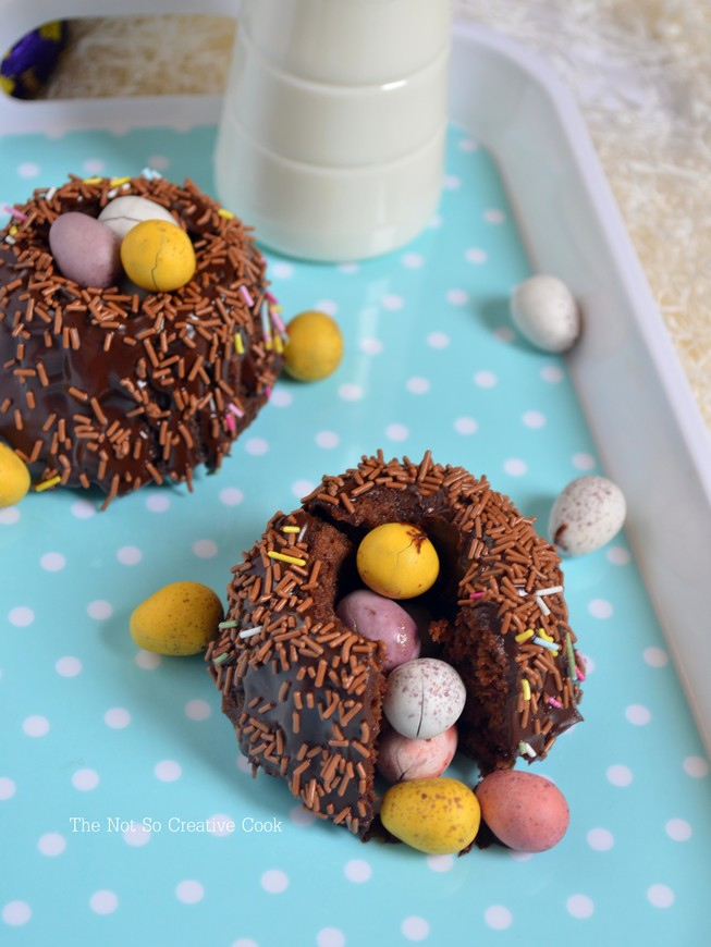 Easter Surprise Mini Bundt Cakes 1