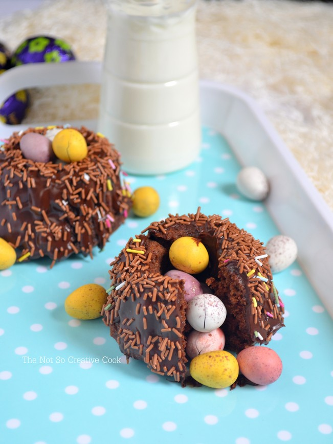 Easter Surprise Mini Bundt Cakes 2