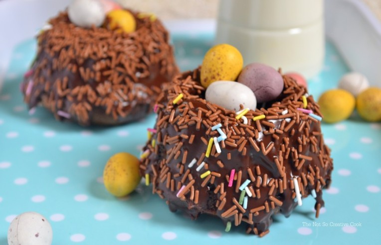 Easter Surprise Mini Bundt Cakes a