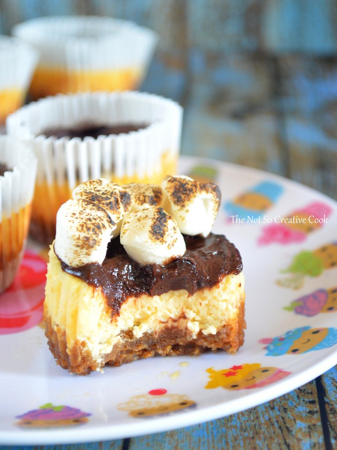 S'mores Cheesecake Cupcakes 3