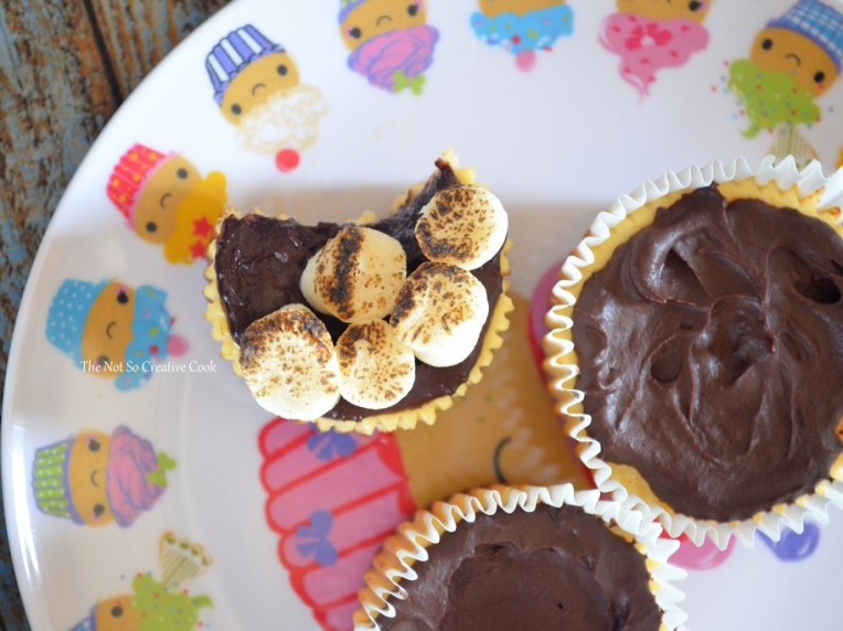 S'mores Cheesecake Cupcakes 5