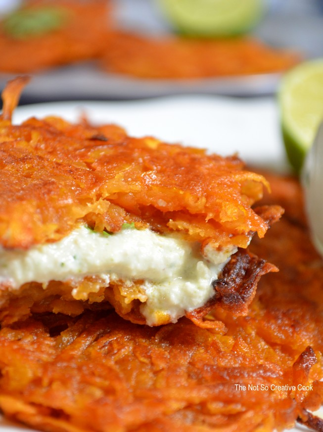 Smoky Sweet Potato Fritters 5